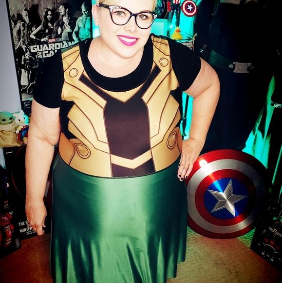 Her Universe Loki/Thor reversible dress